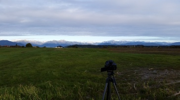 Shooting clouds over Mt. Cook (Aoraki)