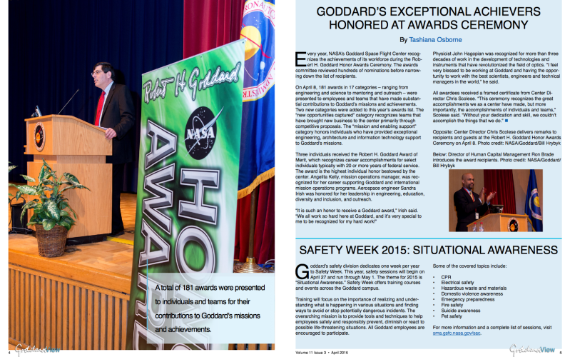 GV April 2015, Volume 11, Issue 3